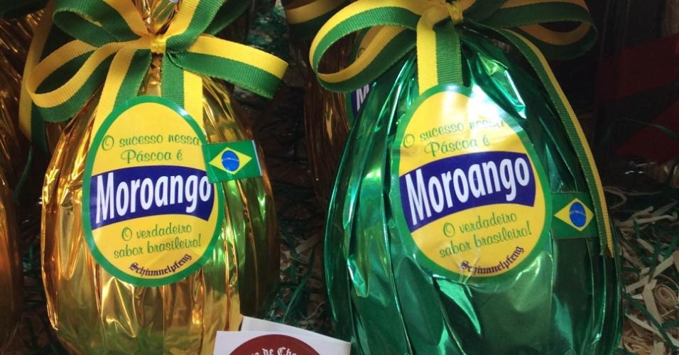 Ovo de Páscoa sabor 'moroango', homenage da Casa de Chocolates Schimmelpfeng ao juiz Sérgio Moro