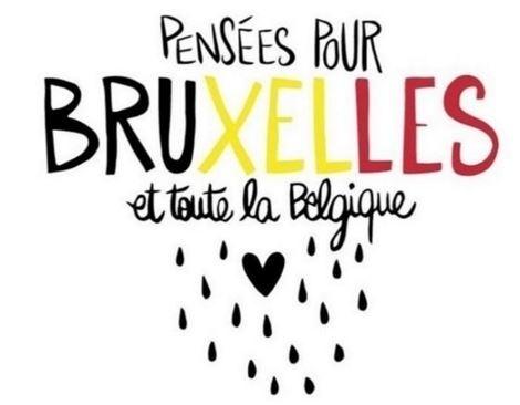 22.mar.2016 - Diversos cartuns começaram a surgir nas redes sociais em solidariedade às vítimas dos atentados terroristas que atingiram Bruxelas na manhã desta terça-feira. A Bélgica tem tradição na arte e recebe um dos maiores festivais de cartuns do mundo, o Knokke Heist