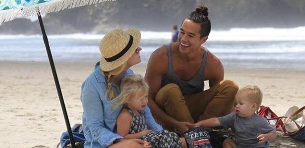 Garrett Gee e sua família estão viajando o mundo após obter fortuna com app