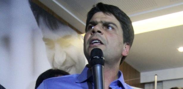 Pedro Paulo é o candidato do PMDB a prefeito do Rio. Ele tenta suceder o correligionário Eduardo Paes