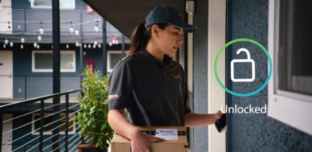10bcfac3e Amazon cria fechadura inteligente para entrar em sua casa e deixar entregas