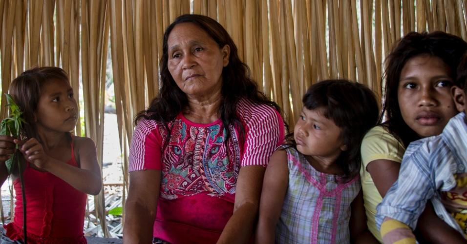 Maria Augusta Kaba, da aldeia Poxo Muybu, no Pará