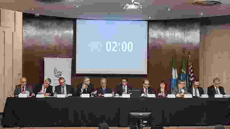 Candidatos à PGR participam do debate em São Paulo - Divulgação/ANPR