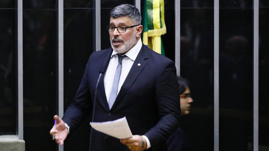 4.jun.2019 - O deputado federal Alexandre Frota (PSL-SP) discursa na Câmara dos Deputados - Luis Macedo/Câmara dos Deputados