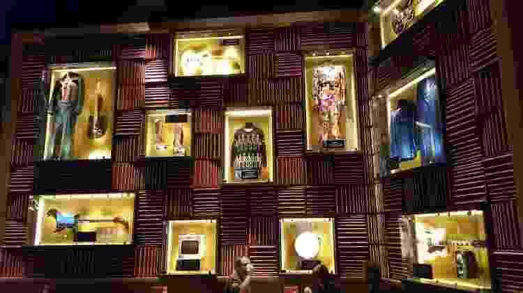 A Hard Rock tem cerca de 80 mil itens originais no acervo - Divulgação