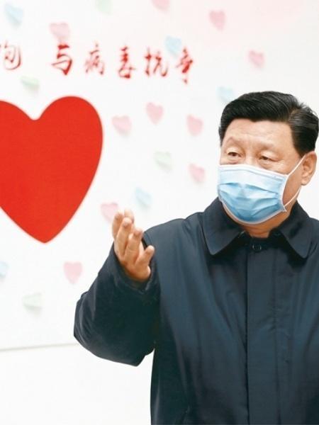 Presidente chinês, Xi Jinping estaria por trás do grande plano de recuperação econômica da China com base na pandemia do coronavírus - Divulgação