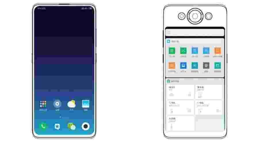 Xiaomi pode estar preparando celular com tela na frente e atrás - Reprodução