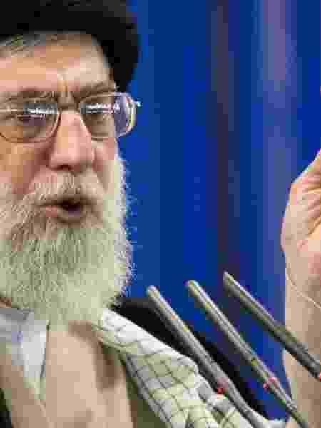 Líder supremo do Irã, Ali Khamenei - Morteza Nikoubazl