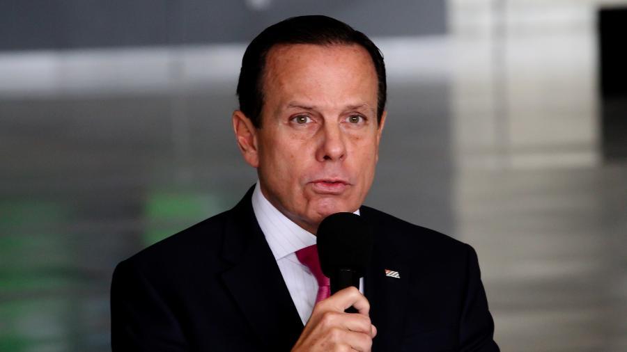 João Doria, governador de São Paulo - BRUNO ESCOLASTICO/PHOTOPRESS/ESTADÃO CONTEÚDO