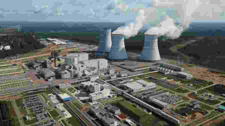 O órgão de energia nuclear da Rússia disse em comunicado que as duas plantas de energia nuclear no noroeste do país (Leningrad NPP e Kola NPP) estavamem funcionamento normal, sem registro de vazamentos - Getty Images