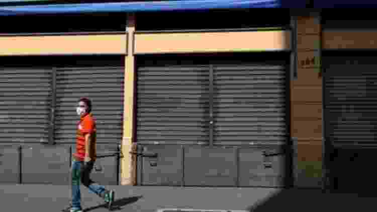 Governo de São Paulo decidiu flexibilizar a abertura da economia depois de quase quatro meses de quarentena - Reuters - Reuters