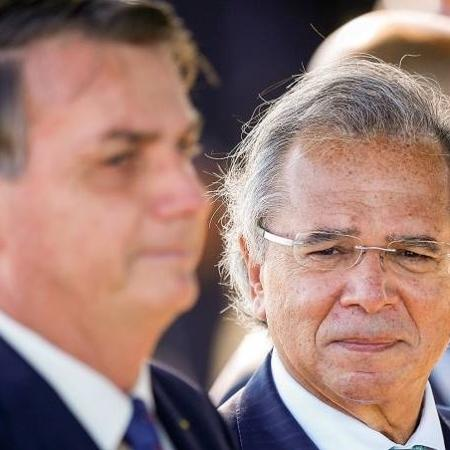 Jair Bolsonaro e Paulo Guedes - Uéslei Marcelino/Reuters