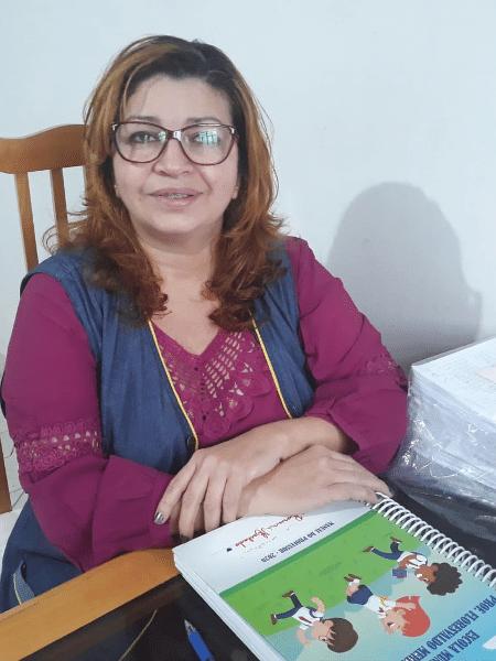 20.ago.2020 -  A professora Rosiani Machado, de 50 anos - Arquivo pessoal/ Rosiani Machado