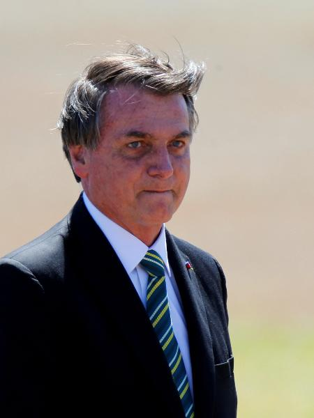 O presidente Jair Bolsonaro  -