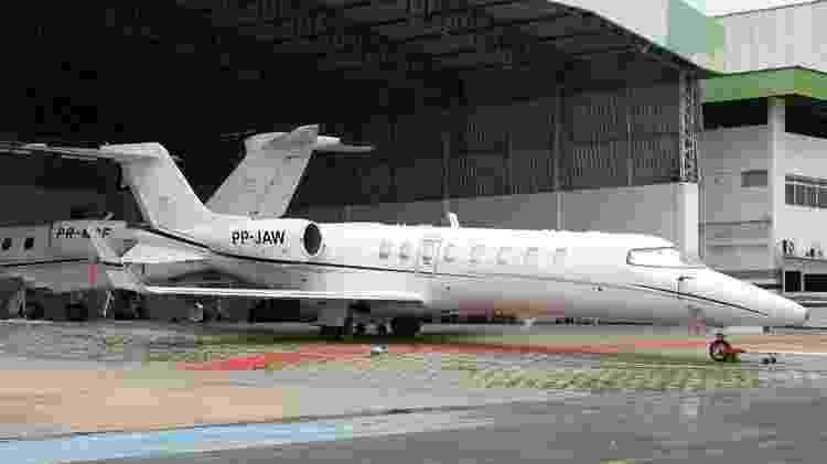 Jato executivo modelo Lear Jeat prefixo PP-Jaw usado pelo governo e contratado junto à Manaus Aerotáxi  - Jetphotos - Jetphotos