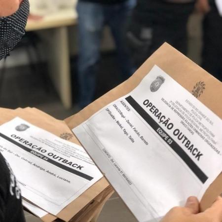 Operação Outback cumpriu mandados contra organização criminosa que praticava extorsão e graves ameaças no RS - Divulgação/Polícia Civil do Rio Grande do Sul