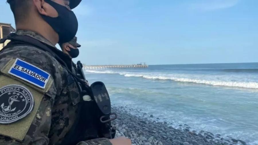 Entre janeiro e 27 de julho em El Salvador, 1,73 toneladas de cocaína foram apreendidas e 68 pessoas foram presas por crimes relacionados - Fuerza Naval de El Salvador/Divulgação
