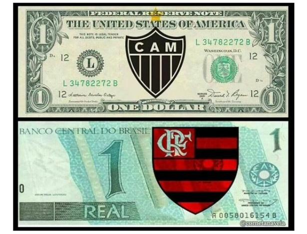 Meme do dólar a R$ 4