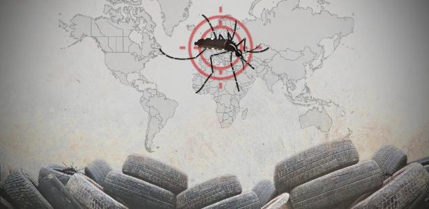 O vírus da zika está se espalhando pelas Américas