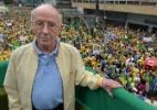 Morre advogado Hélio Bicudo, fundador do PT e autor do pedido de impeachment de Dilma  (Foto: Nelson Almeida/AFP)