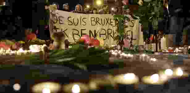 Homenagem em Bruxelas - Kenzo Tribouillard/ AFP - Kenzo Tribouillard/ AFP