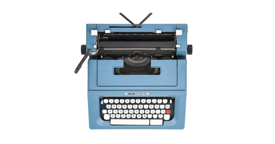 Máquina de escrever semiautomática (1976). Esse é um dos objetos extintos que integram a enciclopédia virtual criada pela startup russa Thngs para eternizar tecnologias do passado