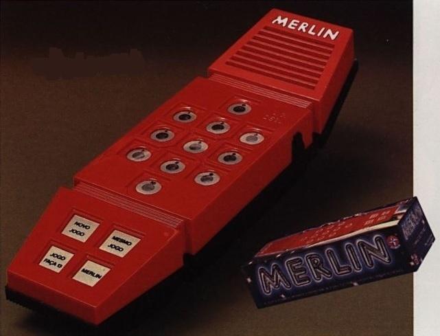 O Merlin foi lançado em 1981 pela Estrela
