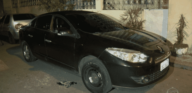 Motorista do Uber não obedece a ordem da polícia para parar e é baleado no Rio - Reprodução/TV Globo - Reprodução/TV Globo