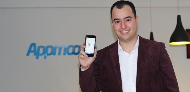 Nichollas Marshell é dono da Appmoove, desenvolvedora do aplicativo Pare Azul