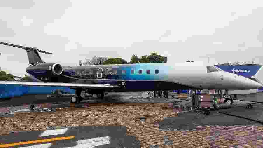 Recursos do BNDES são desembolsados no Brasil, em reais, para a empresa exportadora brasileira, a Embraer - Marcelo Pereira/UOL