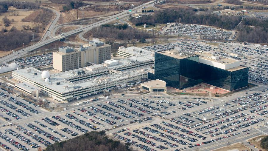 29.jan.2010 - Sede da Agência Nacional de Segurança (NSA) dos Estados Unidos em Fort Meade, Maryland - Saul Loeb/AFP