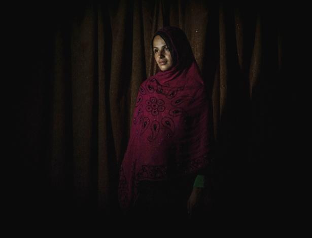Khadija casou-se três vezes, com três irmãos, no Afeganistão