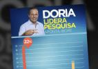Após críticas, PSDB-SP apaga gráfico que supervalorizava Doria em pesquisa - Arte/UOL