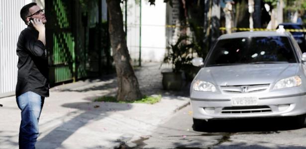 27.jun.2018 - Policial civil é baleado em tentativa de assalto no Andaraí. Na foto, Rivaldo Barbosa, chefe de Polícia Civil - Gabriel de Paiva/Agência O Globo
