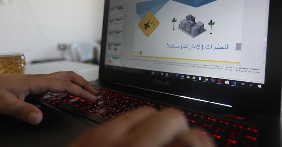 O Sentry, programa que alerta a população civil da Síria de bombardeios iminentes