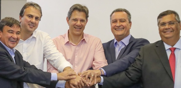 Haddad se reúne com os governadores eleitos Wellington Dias, Camilo Santana, Rui Costa e Flávio Dino