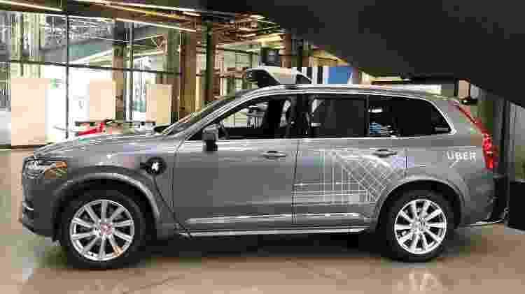 Uber segue testes com carro autônomo, mas está mais quieta quanto ao assunto - Gabriel Francisco Ribeiro/UOL
