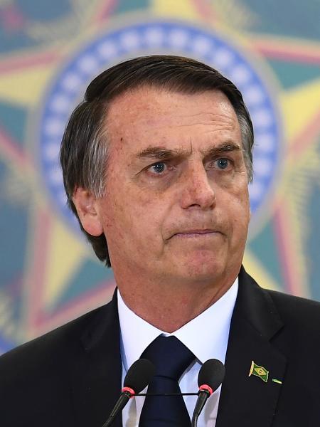 O presidente Jair Bolsonaro  - EVARISTO SA / AFP