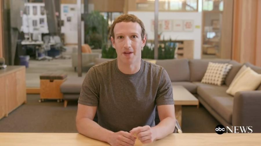 """Em deepfake no Instagram, Zuckerberg cita """"bilhões de dados roubados""""  - Reprodução"""