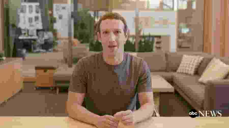 Uma deepfake com Mark Zuckerberg, criador do Facebook, quase convenceu - Reprodução