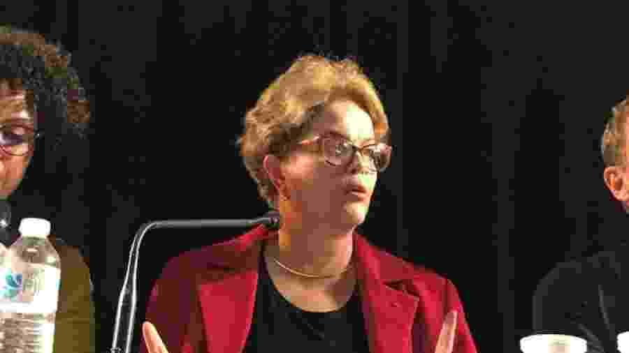 Na francesa RFI, Dilma Rousseff em conferência na Sorbonne  - Reprodução