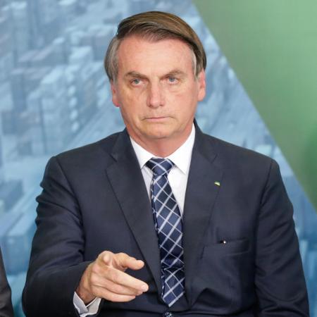 18.dez.2019 - O presidente Jair Bolsonaro (sem partido) durante lançamento da Agenda Positiva Regional - Gabriela Biló/Estadão Conteúdo
