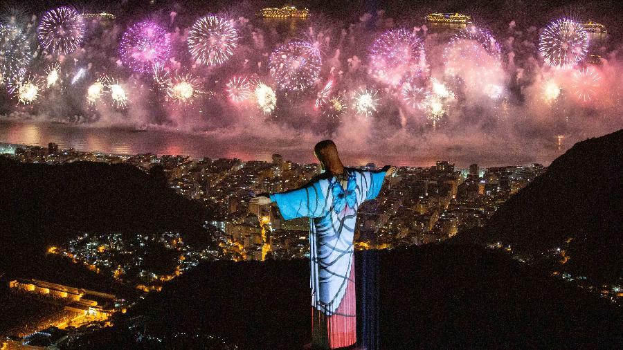 Os fogos de Copacabana sempre foram uma atração importante no Rio de Janeiro - Fernando Maia/Riotur