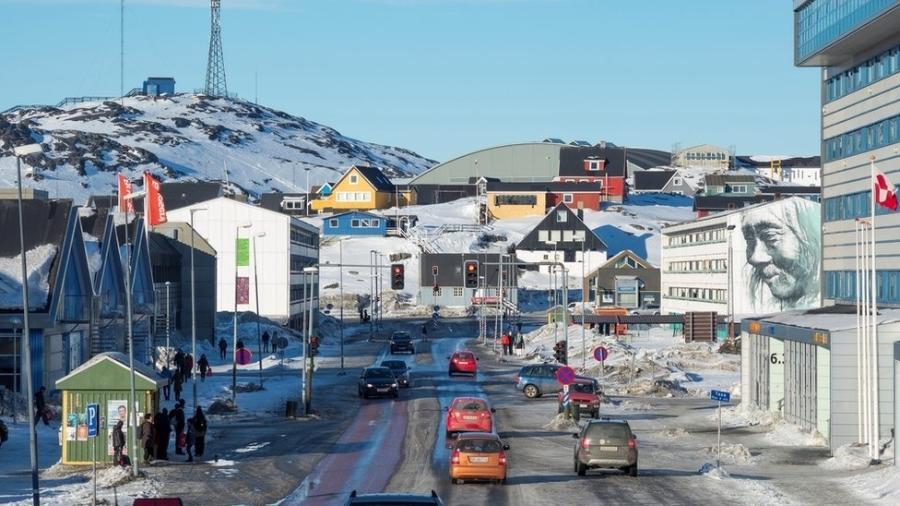 """Ao anunciar medida, ministra de Matérias-Primas disse que a Groenlândia """"leva a crise climática a sério"""" - Getty Images"""