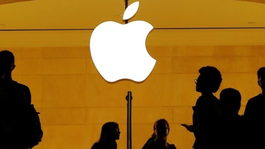 Ações da Apple subiam mais de 7%, a cerca de 412 dólares por ação - Reuters