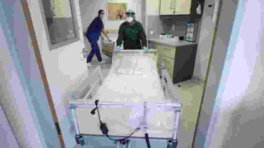 Imagem de leito de hospital - Reuters