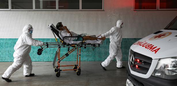 Combate à pandemia   Com 2.418 mortes por covid no Brasil em 24h, média volta a ficar acima de 1.800