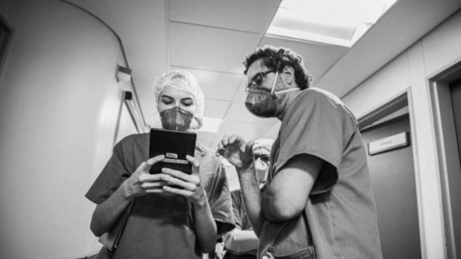 Os estudantes de Medicina da USP trabalharam por três meses na enfermaria de cuidados paliativos do Hospital das Clínicas, em São Paulo - DIVULGAÇÃO HCFMUSP