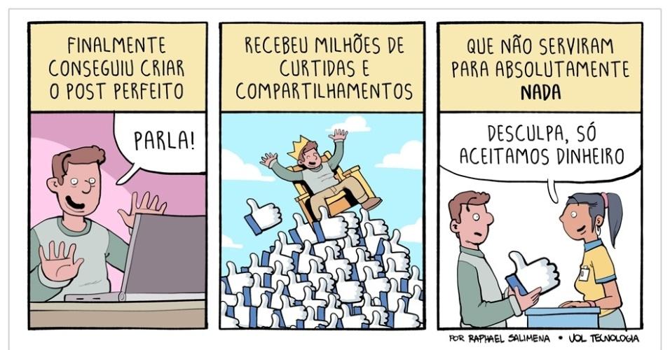 "22.ago.2015 - ""O Rei das Curtidas"""