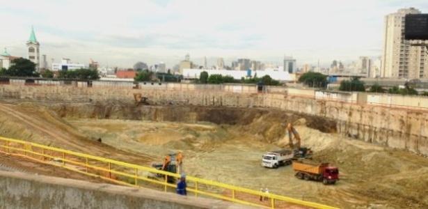 Igreja da Graça começa a construção de um megatemplo para 10 mil pessoas em SP - Felipe Souza/BBC Brasil